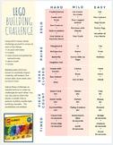 Lego Challenge Printable Game Activity