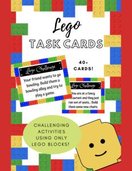 Lego Challenge Task Cards!