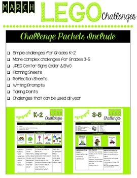Lego Challenges for the WHOLE YEAR!!!!!