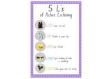 Lego Classroom - 5L's of Listening