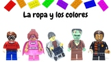 Spanish Lego Clothing and Colors