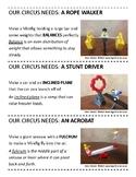 Lego Club STEM Circus Cards