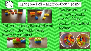 Lego Dice Roll Game - Some Assembly Required!