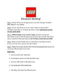 Lego Discussion Building Activity