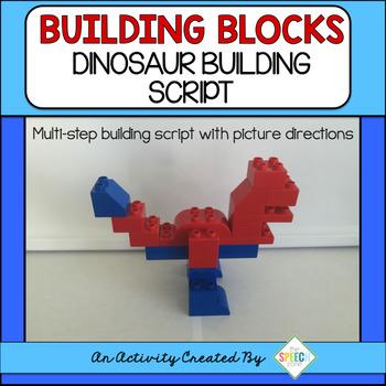 Lego Duplo Dinosaur Building Script