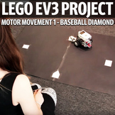 Lego EV3 Beginner Project Rubric - Motor Movement | Baseball Diamond