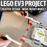 Lego EV3 Creative Design Project - Move Without Wheels
