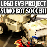 Lego EV3 Intermediate Project - Sumo Bot Soccer
