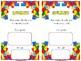 Lego Estimation Cards