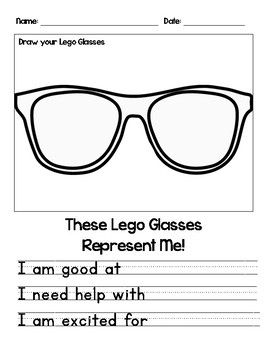 Lego Glasses - All About Me