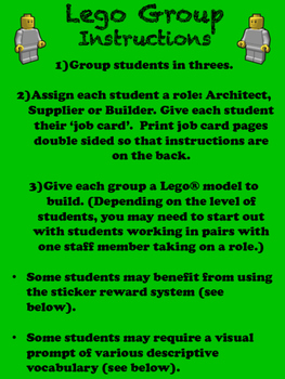 Lego Group Resources