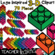Lego Inspired Clipart 234 Piece MATH MEGA BUNDLE