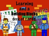 Building Blocks Theme: Learning and a Deck of Cards with Games