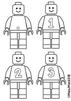 Lego Lettering with Numbers!