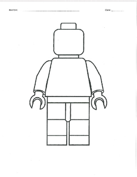 Days and Dates Practice - Lego Man Drawing