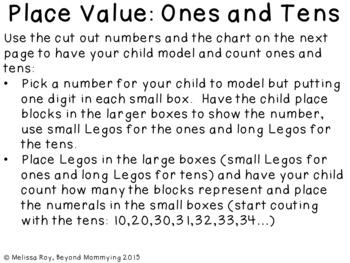 Lego Math Mats
