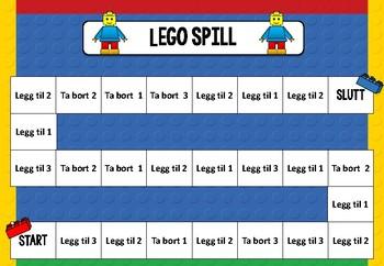 Lego Matte Spill