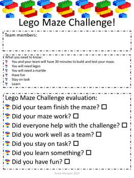 Lego Maze STEAM Project