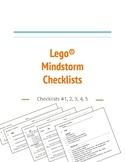 Lego® Mindstorm EV3 Task Checklists
