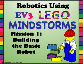 LEGO MindStorms EV3 Building Mission