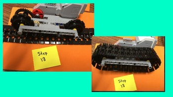 Lego Mindstorms EV3 Building Simple Tracks Step by Step Tutorial