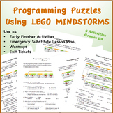 Core Value Puzzles using LEGO Mindstorms EV3 Programming Blocks