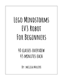 Lego Mindstorms EV3 Robot for Beginners 40 Classes Overview
