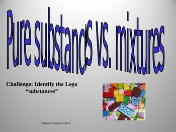 Lego Mixture/Pure Substances Opener