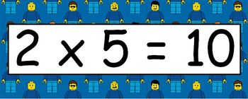 Lego Multiplication Facts