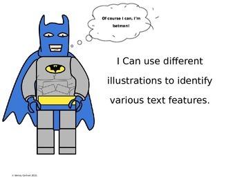 Lego Non Fiction Text Features