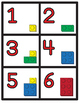 Lego Number Cards