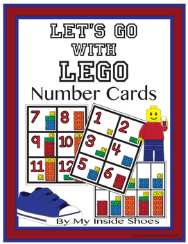 Lego Number Cards