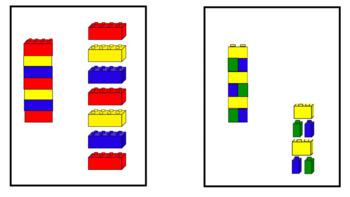 Lego Patterning Cards