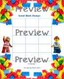 Lego Reward Stamp Sheets
