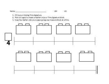 Lego Rhythm 2/4 Time