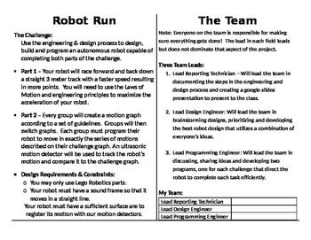 Lego Robot Run