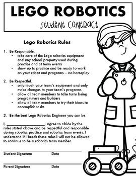 Lego Robotics Contract
