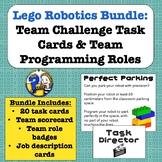 Lego Robots: Team Roles & Task Cards Bundle