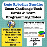 Lego Robots: Team Roles & Task Cards Bundle