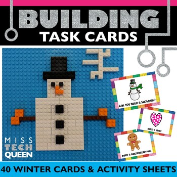 STEM Task Cards - Winter
