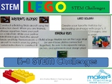 Lego STEM Challenges perfect for a Maker Space!
