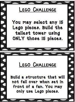 Lego STEM / STEAM Classroom Challenges Part 3