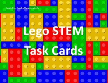 Lego STEM Task Cards