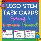 Lego STEM Task Cards Spring and Summer