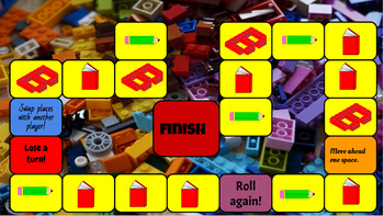 (Building Block) Sight Word Game