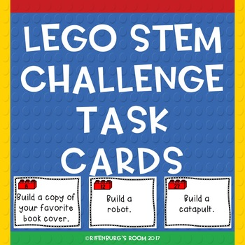 Lego Stem Task Cards First Edition