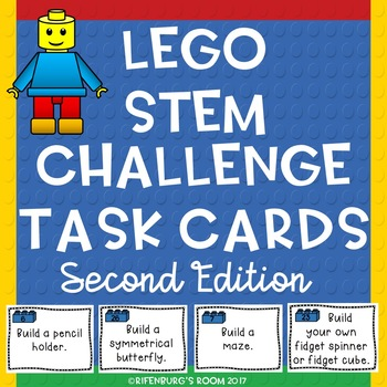 Lego Stem Task Cards Second Edition