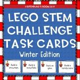 Lego Stem Task Cards Winter Edition - Christmas Legos - Wi