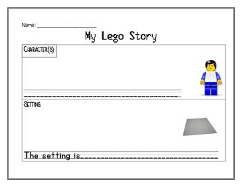 Lego Story Map