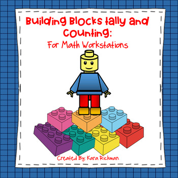 Lego Tally and Counting: A Math Workstation Activity Grades K-2